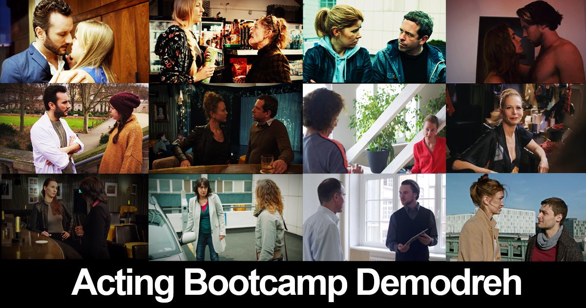 Neue Termine Acting Bootcamp Demodreh